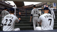 The bullpen in MLB The Show 19