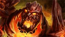 Fire Golem in Sentinel Heroes