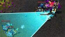 League of Legends Destroying Minions