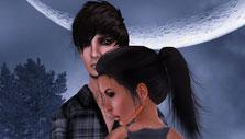 Second Life Moonlit Couple