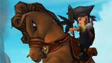 Riding in Pirate 101