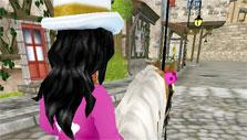 Star Stable Exploring a City
