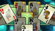 Arch Level in Solitaire Atlantis