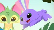 Excited Friends in Animal Jam