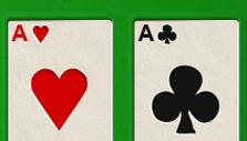 Aces Up in Solitaire Arena