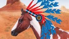 Western Horse in Horzer