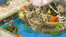 At the Docks in Dofus