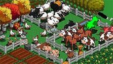Animals in Farmville