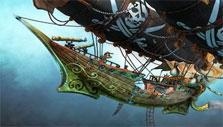 Skyship in Pirates: Tides of Fortune