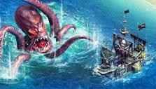 Pirates: Tides of Fortune Sea Monster