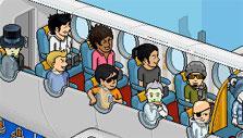 Habbo Hotel Airplane Theme