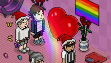 Habbo Hotel Cool Party