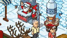 Christmas Room in Habbo Hotel
