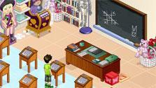 Woozworld: School-themed room