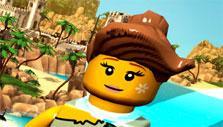 Flying in Lego Minifigures Online