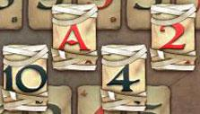 More mummy cards in Pyramid Solitaire Saga