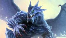 Blue dragon in Magecraft