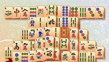 Mahjong: Oil lamp formation