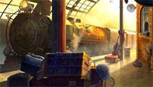 Dark Manor: Train station