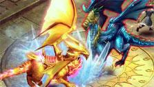 Kingdom Rift: Fighting dragons