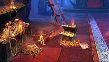 Midnight Castle: the throne room