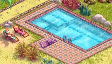 The pool in My Sunny Resort