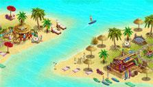 My Sunny Resort: Separated islands