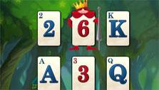 Solitaire in Wonderland: Crowned card