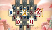 Lock and key cards in Solitaire in Wonderland
