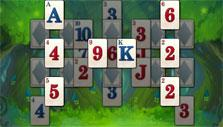 H-shaped in Solitaire in Wonderland