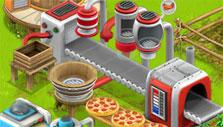 Family Farm: Pizza machine