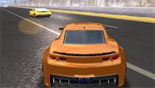 Highway Racer: Orange car