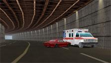 Rammed an ambulance in Highway Racer