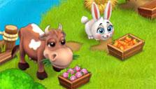 Cow and rabbit in Royal Story