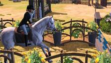 Riding Club Championship: Incoming obstacle