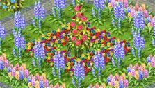 Mahjong: The Secret Garden: ring of flowers