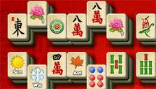 Mahjong: The Secret Garden: cross stitch