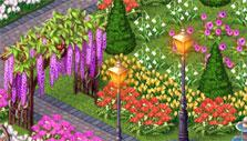 Mahjong: The Secret Garden beautiful garden
