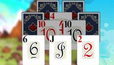 Clumps of cards in Solitaire Duels