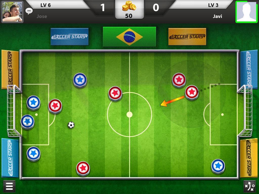 играть онлайн soccer stars