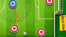 Going for a bounce in Soccer Stars