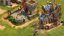 Elvenar: Human barracks