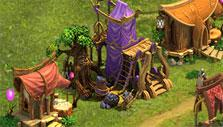 Upgraded Elven residence in Elvenar