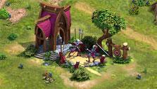 Elvenar: Elven barracks