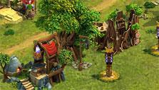 Elven armory in Elvenar