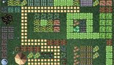 Molehill Empire: vegetable garden