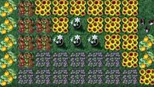 Fruits and flowers in Molehill Empire
