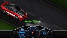 Test driving the tutor's car in StreetRace Rivals