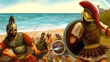 Fight other cities in Grepolis