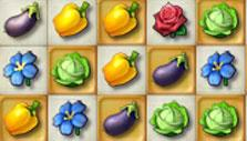 Different vegetables in Farmscapes